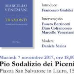 Tramonti: presentazione del nuovo libro di Marcello Veneziani