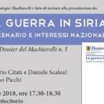 """Presentazione de """"La guerra in Siria"""" a Montecitorio"""