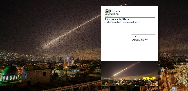 """Presentazione """"La guerra in Siria"""""""
