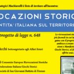 EVENTO | Rievocazioni storiche. L'identità italiana sul territorio