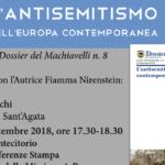 EVENTO | L'antisemitismo nell'Europa contemporanea