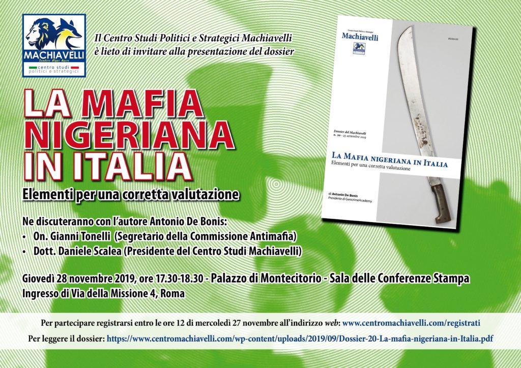 EVENTO| La mafia nigeriana in Italia