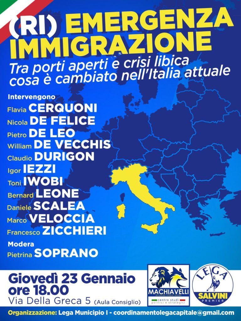 (Ri)emergenza immigrazione | EVENTO