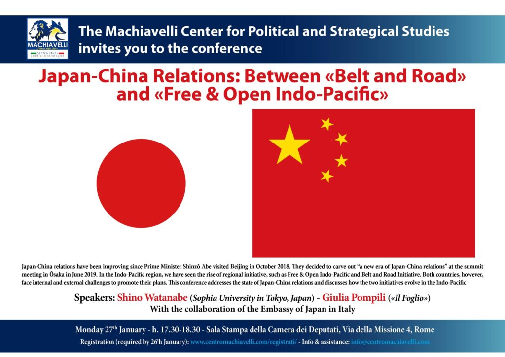 Japan-China relations | EVENTO