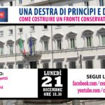Una Destra di princìpi e di governo. Come costruire un fronte conservatore per l'Italia