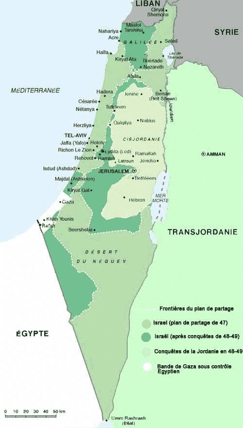 israele 1947-49