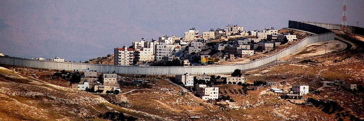israele muro confine